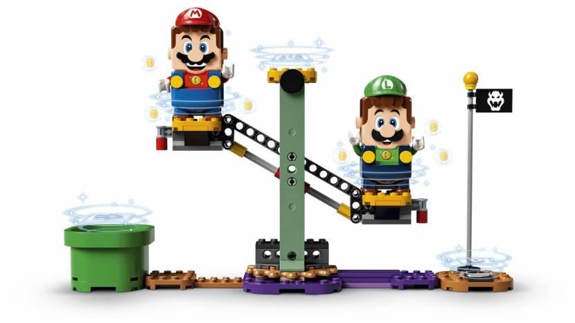 LEGO Super Mario krijgt co-op dankzij Luigi