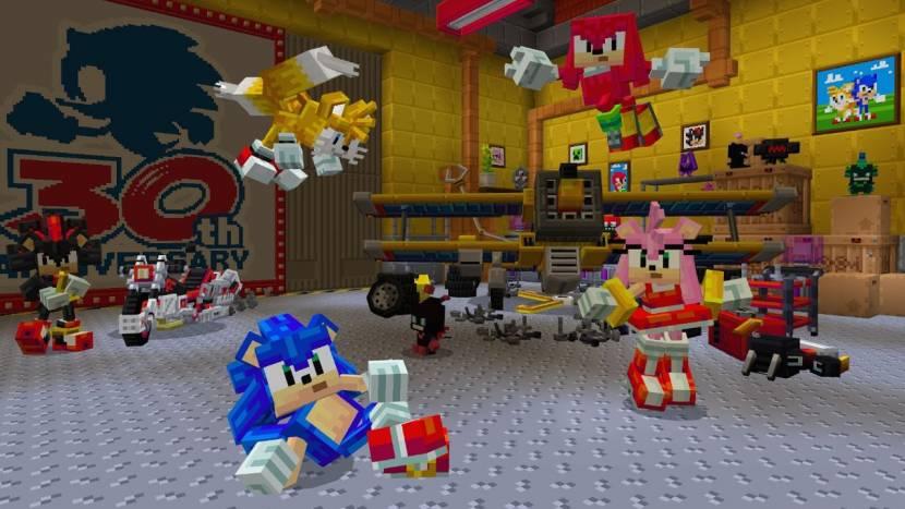 Sonic DLC gelanceerd voor Minecraft