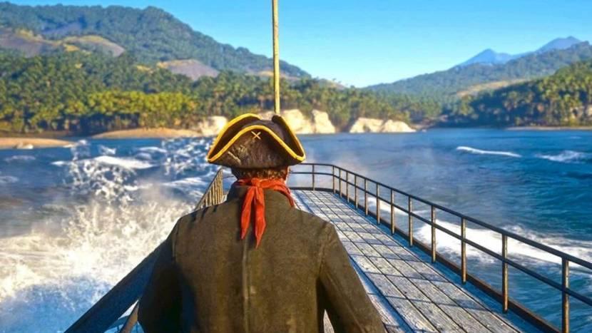 Red Dead Redemption 2 als piratengame ziet er geweldig uit