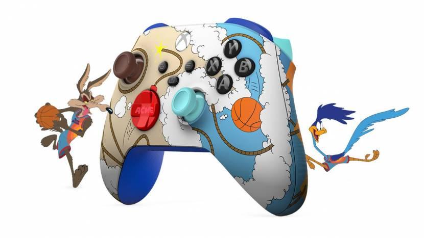 Samenwerking tussen Xbox, Nike en Space Jam levert naast sneakers ook een coole controller op