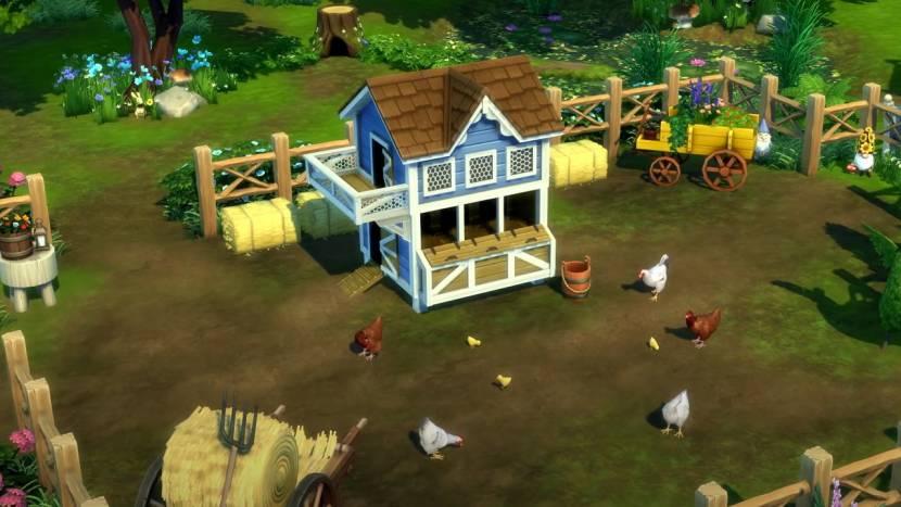 The Sims 4: Cottage Living laat zien wat het in huis heeft