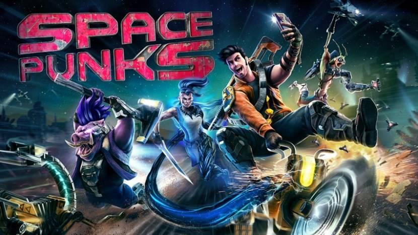 Makers Shadow Warrior stellen met Space Punks nieuwe game voor