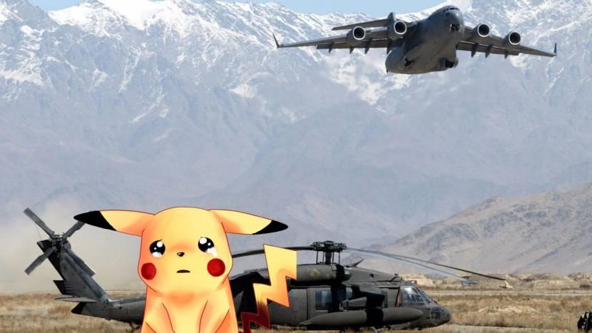 Amerikaanse troepen trekken zich terug uit Afghanistan en laten Pokémon achter