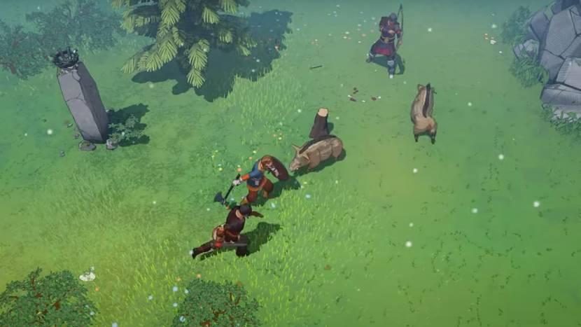 Co-op viking survival game Tribes of Midgard laat zich nog eens zien