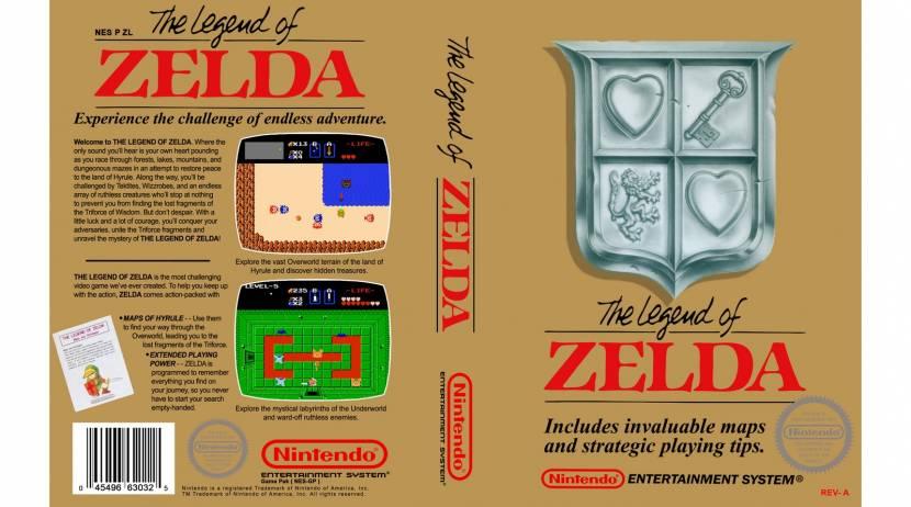 Eerste versie van The Legend of Zelda verkocht voor 870.000 dollar