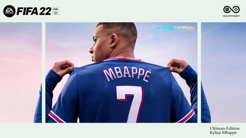 FIFA 22 lost eerste trailer, Franse superster opnieuw op de cover