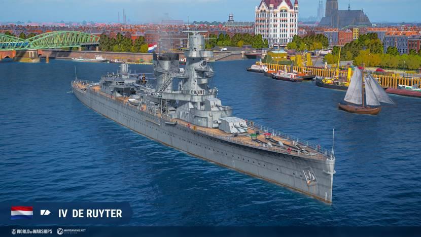 Nederland valt World of Warships binnen