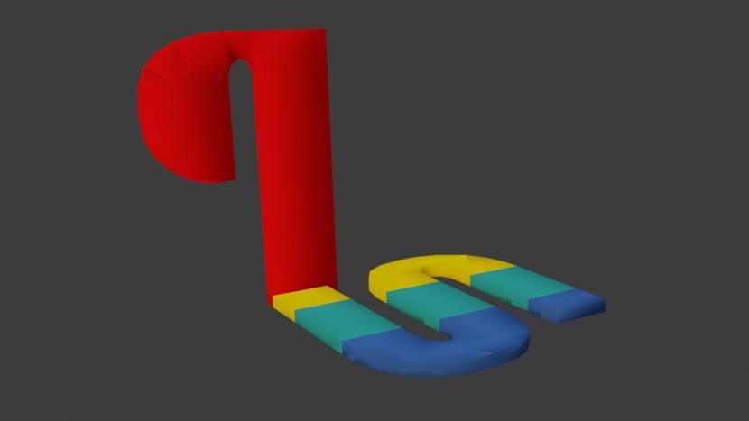Dat PS1 logo bij het opstarten blijkt 3D te zijn en dat levert rare perspectieven op