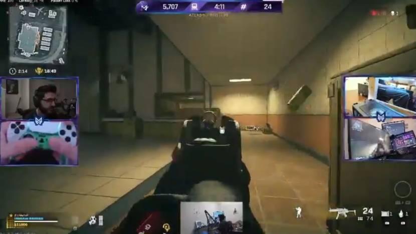 Call of Duty pro gebruikt 5 camera's om te bewijzen dat hij niet cheat