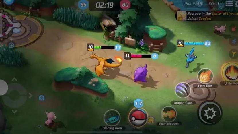 Pokémon Unite verschijnt volgende week