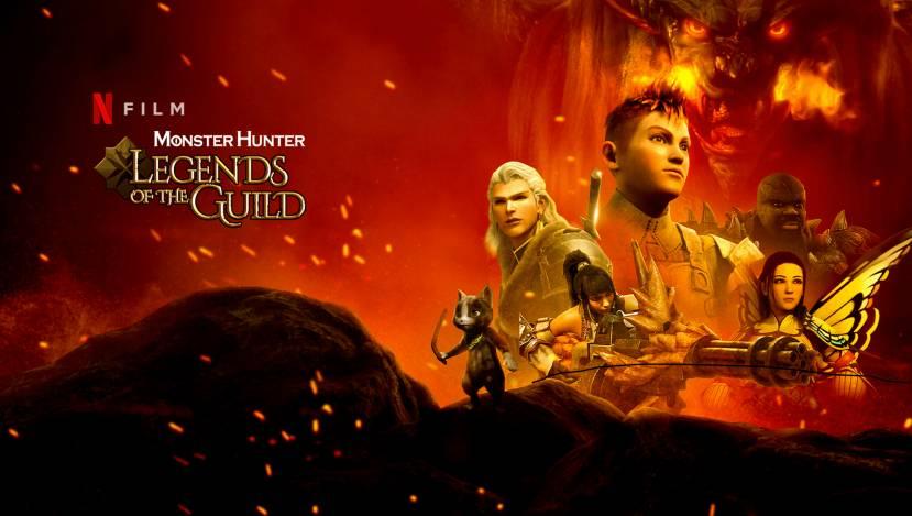 Vanaf 12 augustus Monster Hunter: Legends of the Guild op Netflix