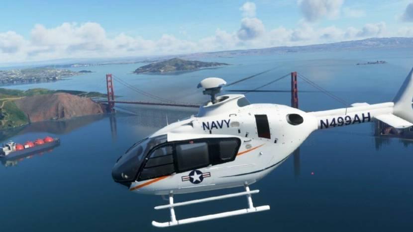 Helikopters op weg naar Microsoft Flight Simulator