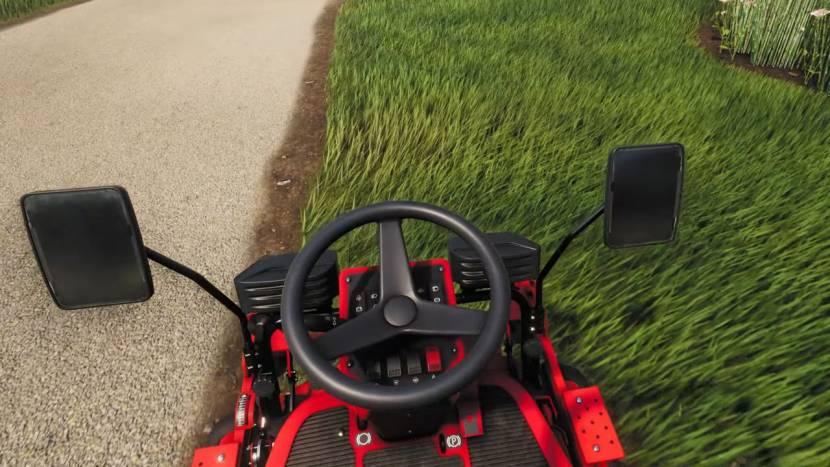 Lawn Mowing Simulator laat je binnenkort virtueel gras afrijden