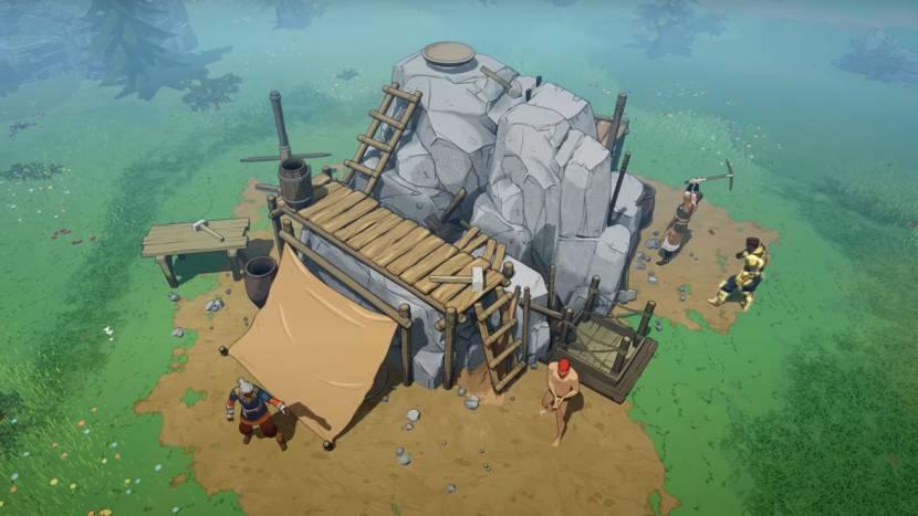 Launch trailer voor co-op viking survival game Tribes of Midgard