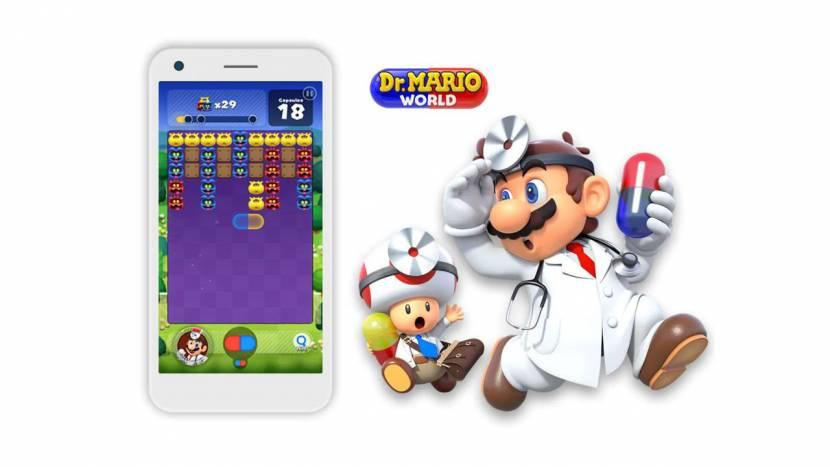 Nintendo trekt stekker uit Dr. Mario World