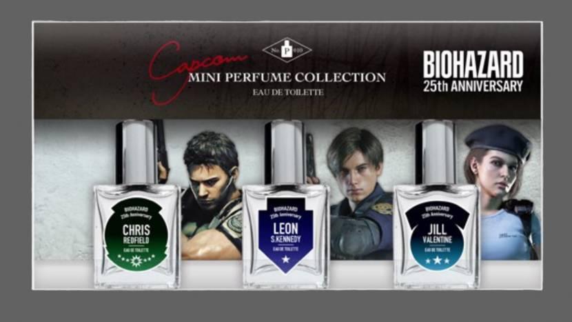 Resident Evil personages krijgen hun eigen parfum