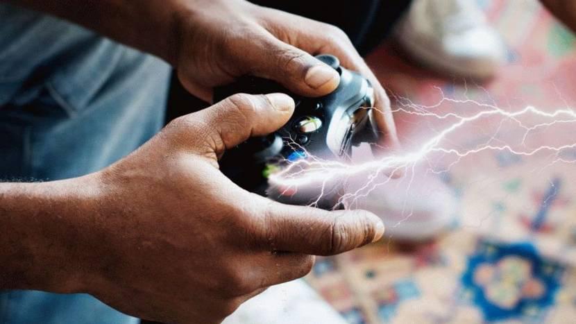 Gamer krijgt door blikseminslag schok via controller