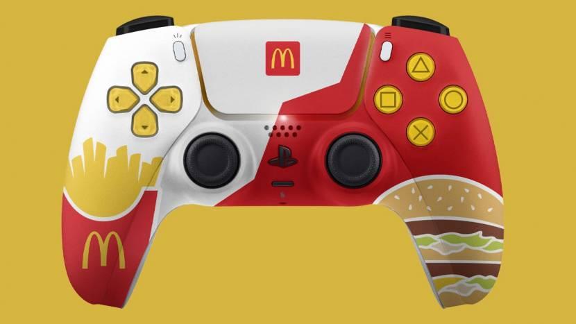 Sony zegt nee tegen PS5 controller van McDonald's
