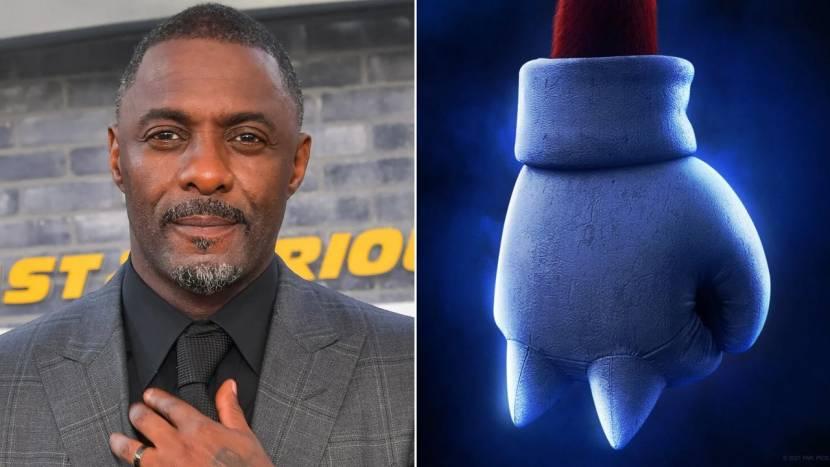 Idris Elba speelt Knuckles in nieuwe Sonic film