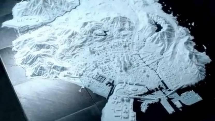 3D-geprinte GTA V map kostte 400+ uur om te maken
