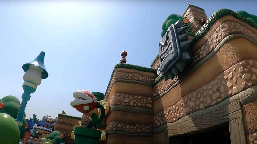 Incident in Nintendo pretpark: deel van attractie stort naar beneden