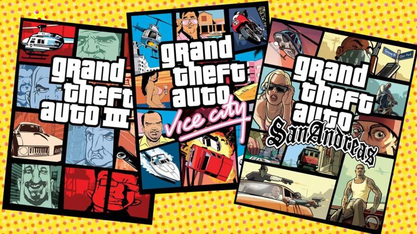 """""""Remasters van GTA 3, Vice City en San Andreas verschijnen dit jaar nog"""""""