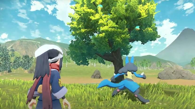 Pokemon Legends: Arceus toont meer van zijn open wereld en nieuwe Pokémon