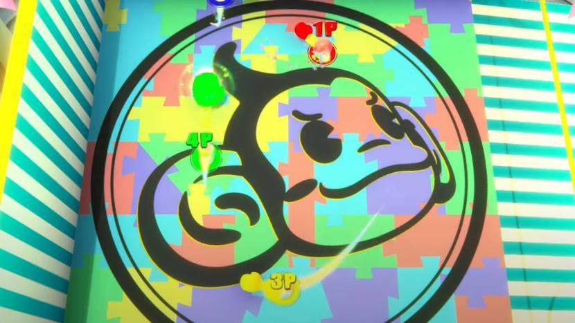 Super Monkey Ball Banana Mania toont een hoop mini-games