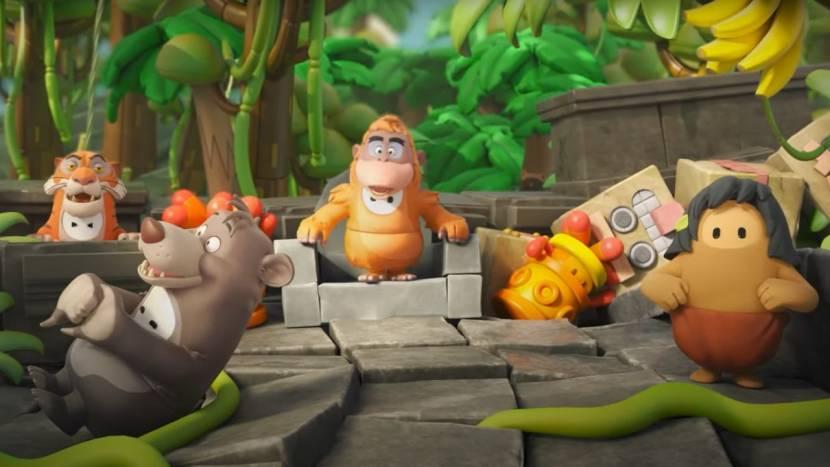 Fall Guys krijgt Jungle Book op bezoek