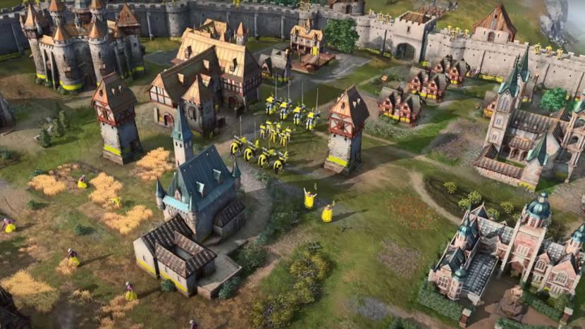 Nieuwe Age of Empires IV trailer toont het Holy Roman Empire in actie