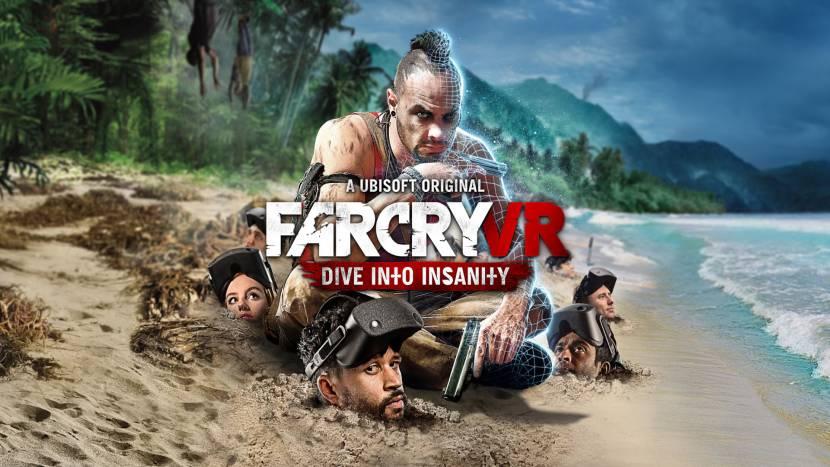 Far Cry VR: Dive Into Insanity nu ook te vinden in België