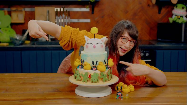 Final Fantasy XIV viert achtste verjaardag met taart