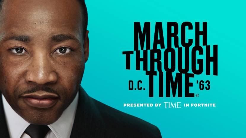 Martin Luther King verschijnt in Fortnite