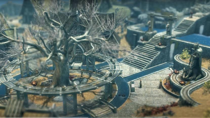 Zo zien Cyberpunk 2077, Skyrim en The Witcher 3 eruit als city builders