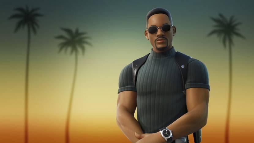 Will Smith duikt op in Fortnite