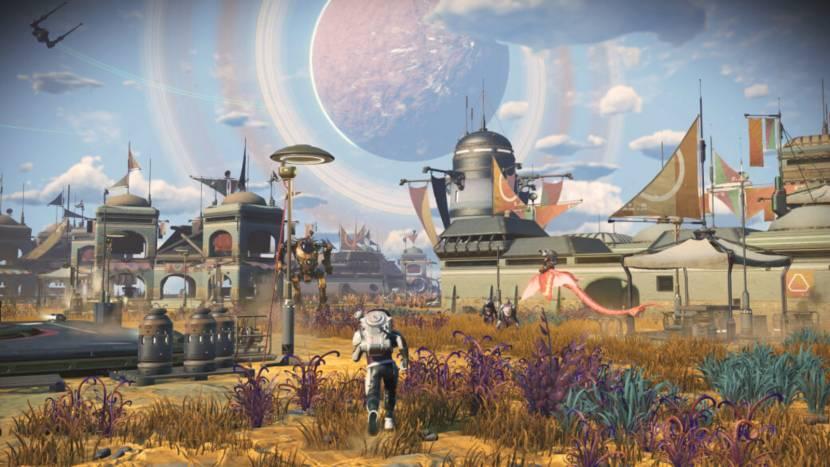 Nieuwe update No Man's Sky voegt buitenaardse nederzettingen toe
