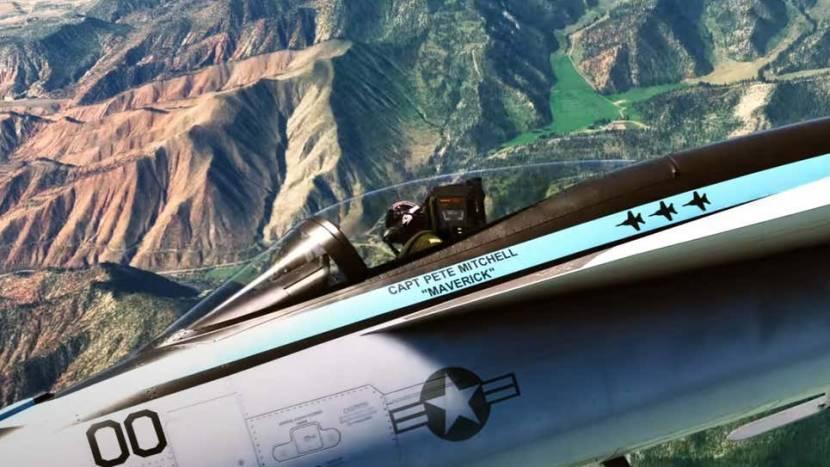 Top Gun DLC voor Microsoft Flight Simulator vliegt naar 2022