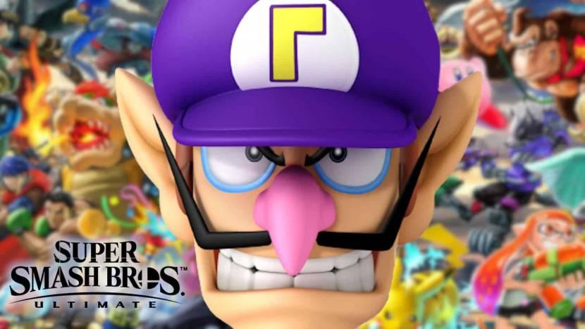 Fan geeft Waluigi eindelijk zijn kans in Super Smash Bros