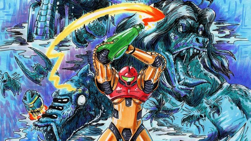 Nintendo haalt prachtige handgetekende game guides van Kickstarter