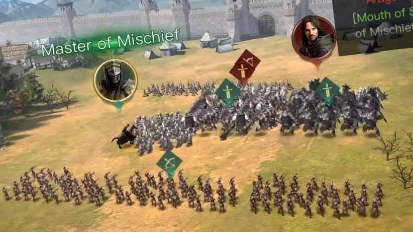 Nieuwe Lord of the Rings strategy game toont eerste gameplay