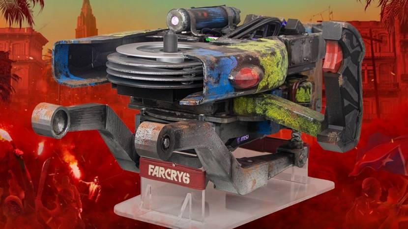 Ubisoft geeft een super exclusieve Far Cry 6 gaming pc weg