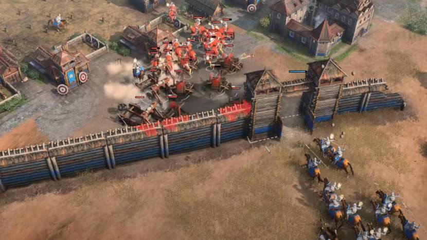 Age of Empires IV toont volledige multiplayer match van 45 minuten