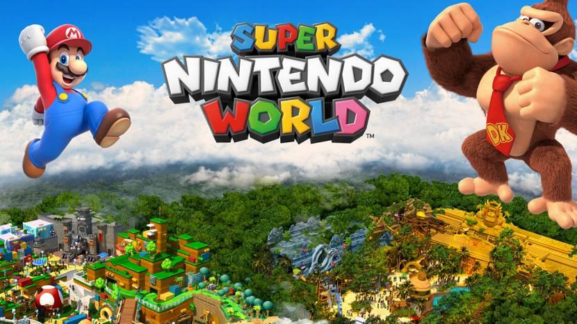 Nintendo pretpark wordt bijna dubbel zo groot dankzij toevoeging van Donkey Kong uitbreiding