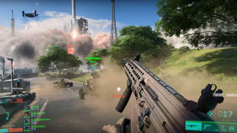 Nieuwe data voor Battlefield 2042 open bèta