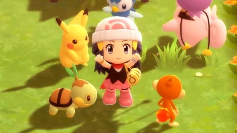 Pokémon Brilliant Diamond & Shining Pearl tonen Pokétch en meer