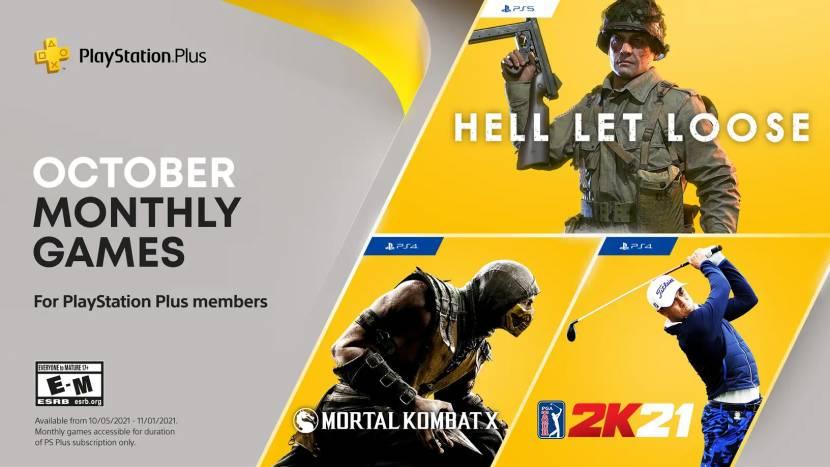 PS Plus-games voor oktober bekend