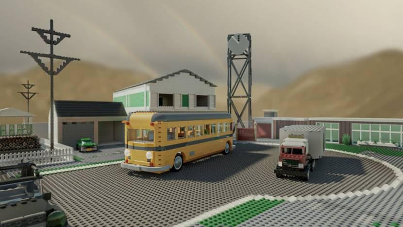 Iconische Call of Duty maps nagemaakt in LEGO (maar niet écht)