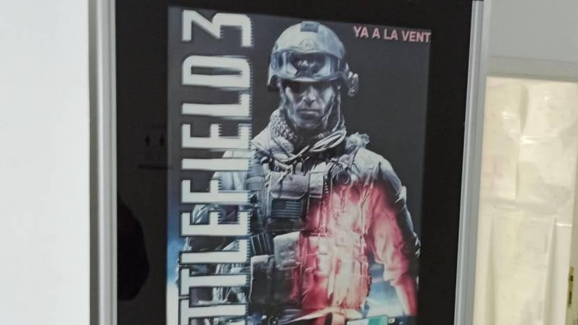 Op deze universiteit maken ze nog steeds reclame voor ... Battlefield 3