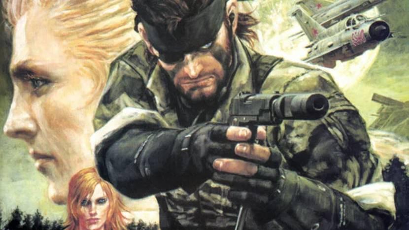 """""""Metal Gear Solid 3 remake op komst"""""""