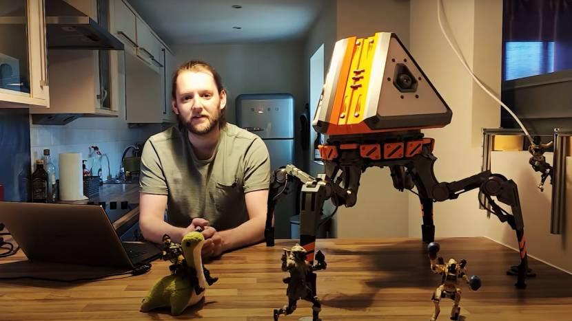 Ingenieur bouwt Apex Legends loot robot die echt kan lopen
